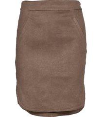 skirt knälång kjol brun sofie schnoor