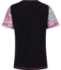 shirt met korte mouwen van looxent zwart