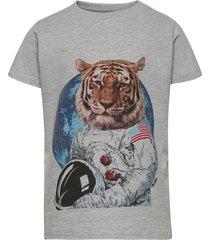 ruben s_s tee t-shirts short-sleeved grå the new