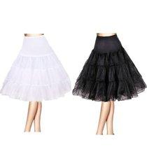 """26"""" retro swing 50s 80s tutu underskirt petticoat wedding rockabilly fancy dress"""