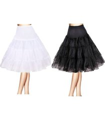 "26"" retro swing 50s 80s tutu underskirt petticoat wedding rockabilly fancy dress"