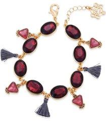 nanette nanette lepore beautifully berry line bracelet