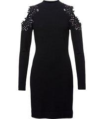 abito in maglia con cut-out (nero) - bodyflirt boutique