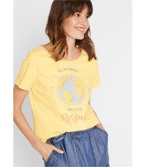 natuurlijk geverfd shirt, biologisch katoen