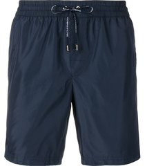 dolce & gabbana classic swim shorts - blue