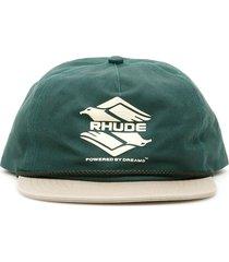 rhude double eagle cap