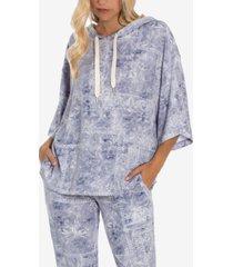 women's riley bandana hacci lounge hoodie