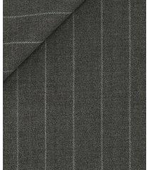pantaloni da uomo su misura, vitale barberis canonico, icon gessato grigio, quattro stagioni | lanieri