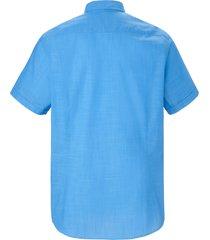 overhemd 100% katoen van bugatti blauw