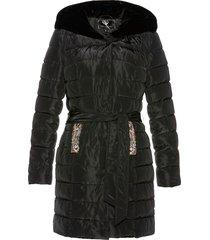 giacca trapuntata con velluto (nero) - bpc selection