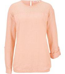 tunica con pizzo ed elastico (rosa) - john baner jeanswear