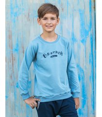bluza brother dusty blue