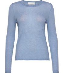 cornelia stickad tröja blå fall winter spring summer