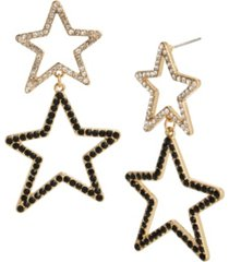 jessica simpson celestial star dangle earrings