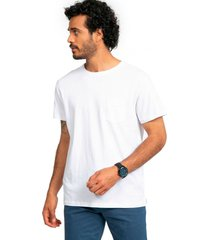 polera jersey cuello redondo blanco arrow