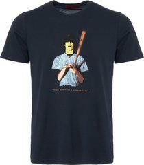 80s casuals dark navy the warriors t-shirt 80s-warriors