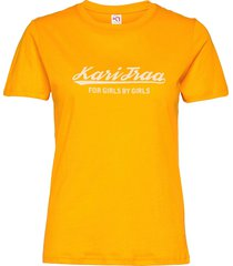 mlster tee t-shirts & tops short-sleeved gul kari traa