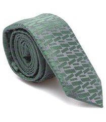 gravata gv - verde
