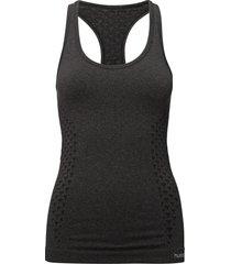 classic bee ci seamless top t-shirts & tops sleeveless svart hummel