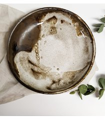 ceramiczna misa / talerz kolekcja village