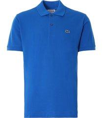 lacoste classic fit l.12.12 polo shirt | bleu | l1212-qpt