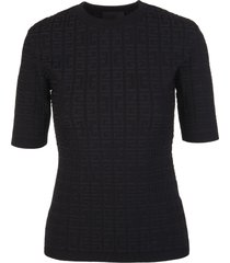 givenchy woman black 4g knitted pullover