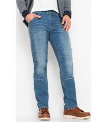 regular fit stretch jeans, straight