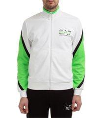 emporio armani ea7 ventus 7 zip-up sweatshirt