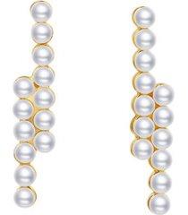 kolczyki bar pearl