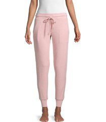 honeydew intimates women's drawstring jogger pants - pink - size l