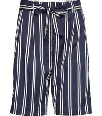 longer length tailored shorts bermudashorts shorts blauw scotch & soda