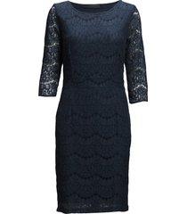 anastacia dress jurk knielengte blauw minus