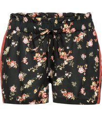 shorts con bande laterali (nero) - rainbow