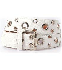 cinturón blanco la vie est belts venecia
