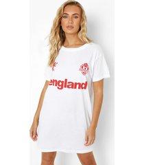 engeland t-shirtjurk, white
