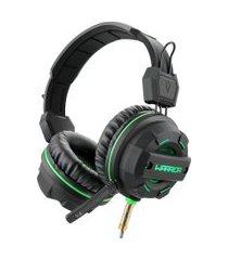 fone de ouvido headphone gamer green usb led ph143 multilaser