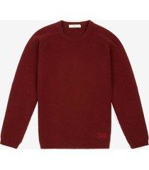b-chain sweater burgundy 44