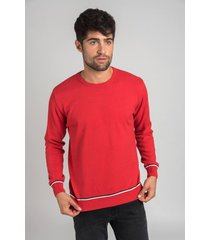 sweater rojo oxford polo club roland