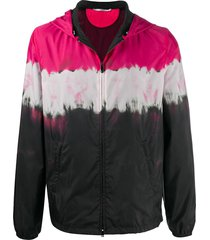 valentino paneled lightweight jacket - black