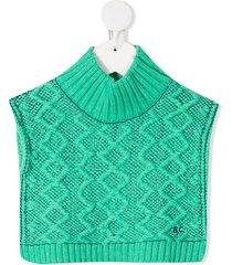bobo choses crocheted tank top - green