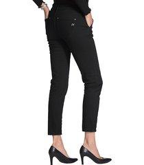 jeans med snörning amy vermont svart