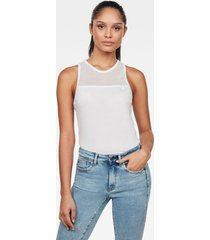 mesh tanktop optic slim