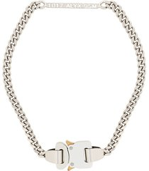 1017 alyx 9sm buckle chain necklace - silver