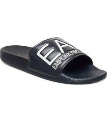 slipper visibility s shoes summer shoes pool sliders svart ea7