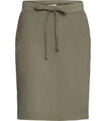 naya skirt kort kjol grön kaffe