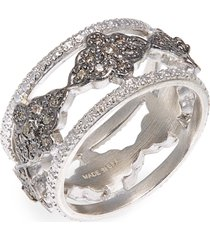women's armenta new world diamond scroll band ring