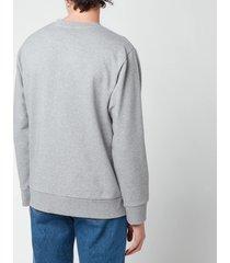 a.p.c. men's jimmy sweatshirt - heathered grey - xl