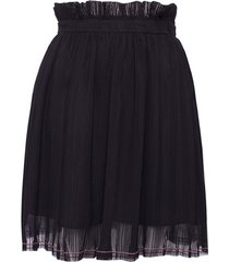 spódnica black frill mini skirt