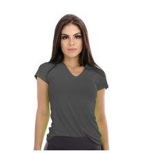 camiseta cajafit dry plus cinza