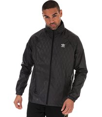 mens allover print windbreaker jacket